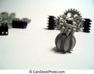 Gears 1 - Toy Plastic Gears