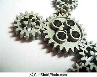 Gears 3 - Toy plastic gears