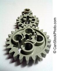 Gears 5 - Toy plastic gears in union