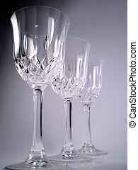 crystal glasses - fancy glasses appropriate for weddings