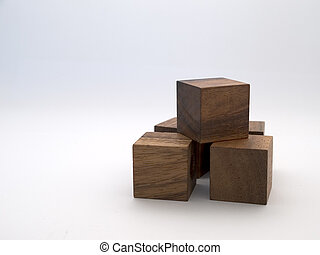 Blocks - Toy wooden building blocks