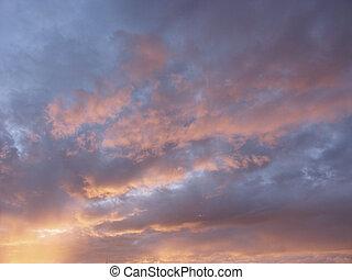 Billowed Sunset