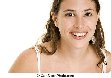 Natural Beauty 4 - An attractive and natural young woman...