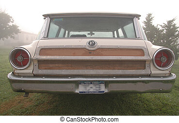 woody wagon 2 - a woody style station wagon in the early...