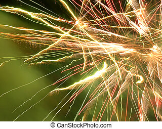 Fireworks Close Up - Fireworks Background