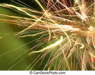 Fireworks Close Up - Fireworks Background