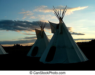 Tipis - Authentic Cree Nation Tipis in Northwestern...