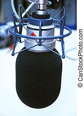 studio microphone - modern studio microphone