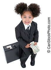 Child Girl Business - Beautiful Little Business Woman...