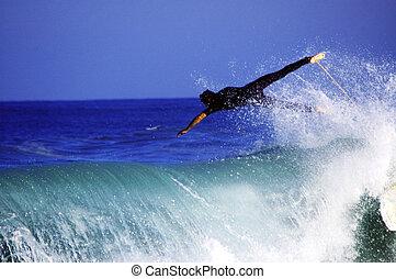 przelotny,  Surfer