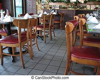 Restaurant - Shot of a few tables in a mexican restaurant