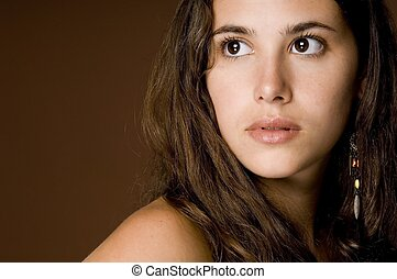 Natural Beauty 14 - A naturally beautiful young woman on a...