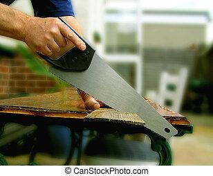 Carpenters Saw - If I was a carpenter