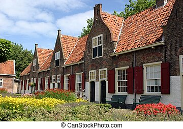 Houses in Holland - Old houses