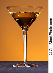 golden martini - celebrate with a golden martini