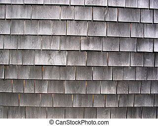 Cape Cod shingles - the weathered cedar shingles that are...