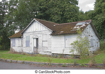 Neglected cottage