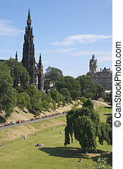 Scott Monument 1 - Scott Monument Edinburgh, Scotland