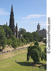 Scott Monument 1 - Scott Monument Edinburgh, Scotland