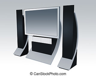 Plasma TV and Home Theatre System