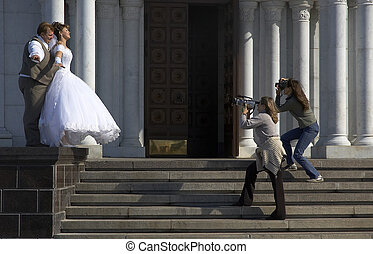 wedding photo session