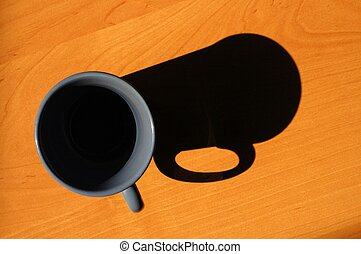 Mug and mug shadow