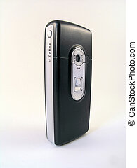 mobile phone with digital camera - Isometric view of a...