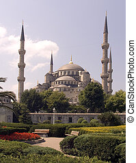 Blue mosque 17 - Blue mosque, Istanbul, Turkey