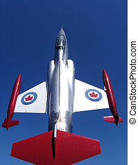 CF-104 Starfighter - Up and forward.