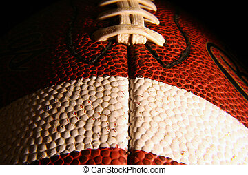 Football 2 - Close up of a football.