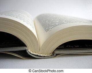 abierto, libro