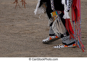 Pow-Wow - Native American, dancing
