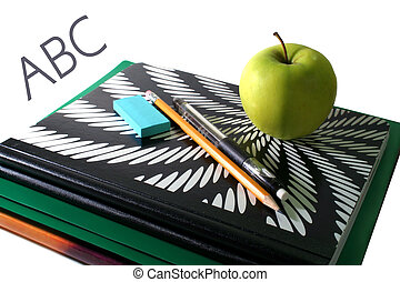 School Supplies - back to school supplies, and a bribe for...