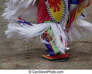 Pow-Wow - Native American male dancing