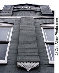 Old Architecture - 1895 building in Franklin, Tennessee