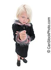 Girl Child Angry