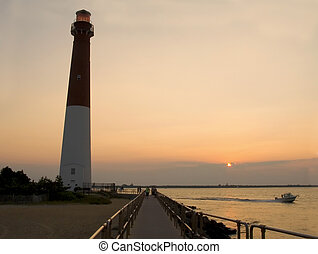Barnegat Sunset - This is a sunset view of the Barnegat...