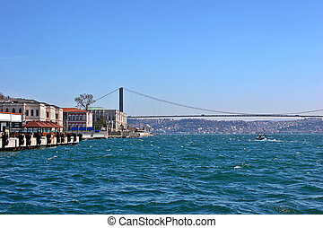 Istanbul Bosphorus Bridge - The Bosphorus Bridge in Istanbul