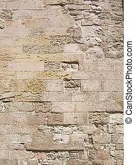 sędziwy, ściana