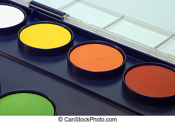 water-colour box - Paint accessories