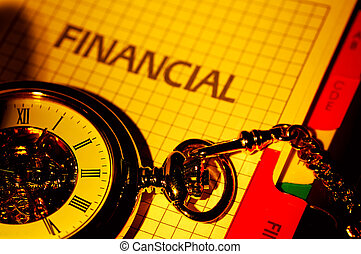 Financial Concept - Time is Money Concept. See Portfolio FOr...