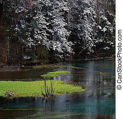 Colorful winter - Jiuzhaigou Valley Scenic and Historic...