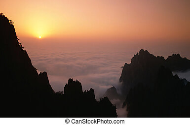Mount in the sky - Yellow mount in Anhui,China