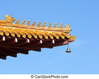chinese temple eave