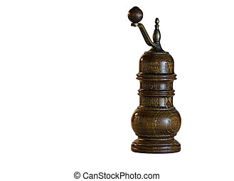 pepper mill - Isolated pepper mill