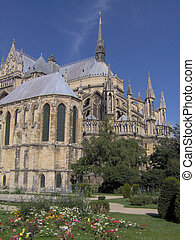 Cathedral - The cathedral of Rheims, France