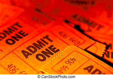 Admit One Tickets - Photo of Admit One Tickets