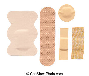 Bandages - Flesh coloured bandages
