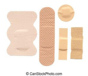 Bandages - Flesh coloured bandages