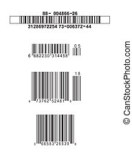 Fake Barcodes - 4 fake Barcodes